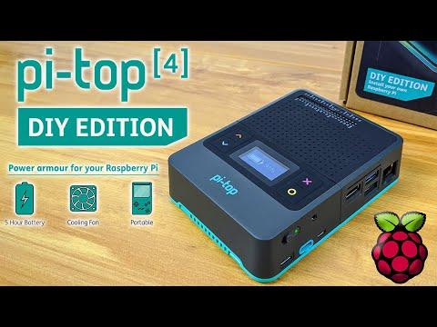 Pi-Top 4 New DIY Edition - Power ArmorFor Your Raspberry Pi 4