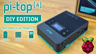 PiTop 4 New DIY Edition  Power ArmorFor Your Raspberry Pi 4