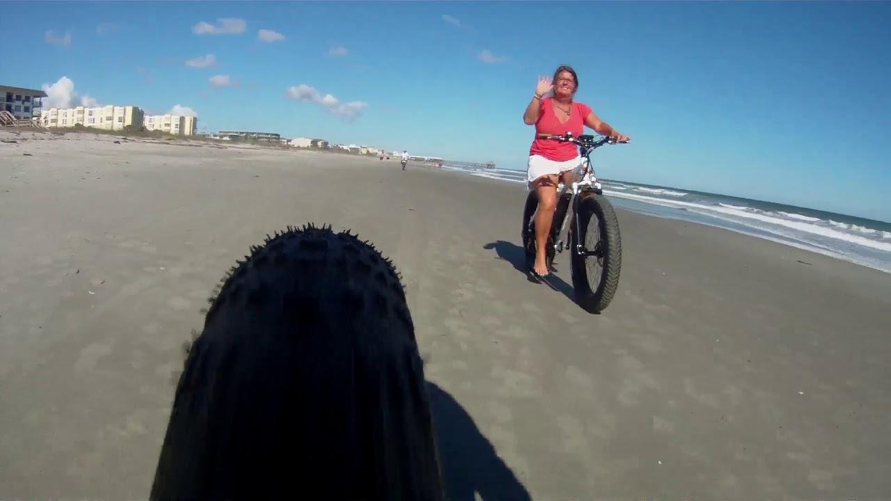 Radrover Electric Beach Bikes Cocoa Pier Xmas Time