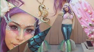 Siren / Mermaid Costume - DIY