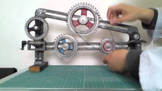 日本製 歯車の教材模型 No.01 Made in Japan  Model of teaching materials of a gear  No.01