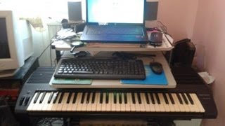 Mulab free - setup and play a midi keyboard with laptop & vst tutorial
