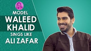 Model Waleed Khalid opens up about his friendship with HSY | Momina's Mixed Plate |