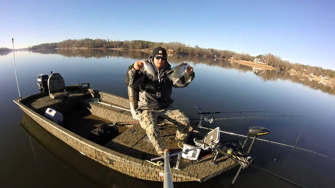 1st time spider rigging youtube for Spider rigs for crappie fishing