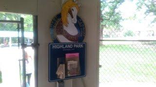 Vintage 1925 Carousel at Highland Park in Endicott, New York