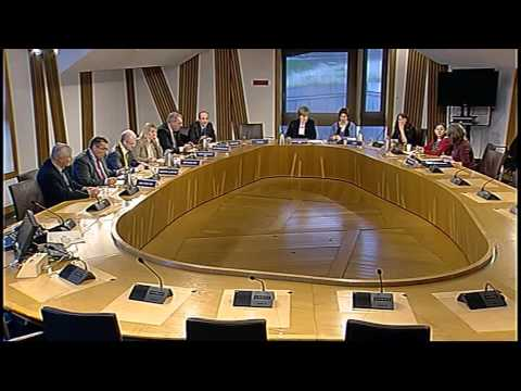 Equal Opportunities Committee - Scottish Parliament: 9th October 2014