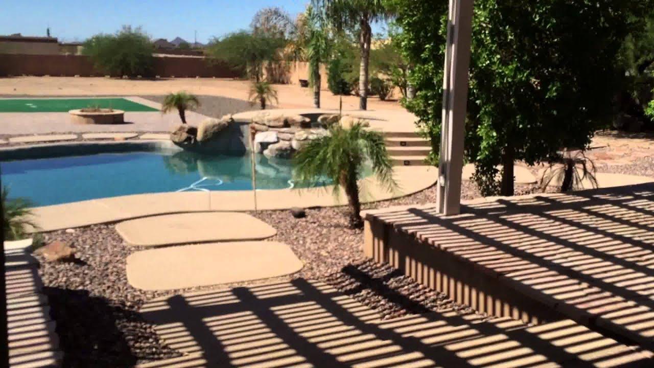 custom luxury home for sale in peoria az no hoa acre lot basement home youtube