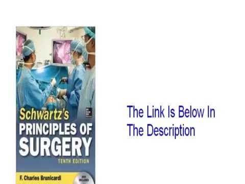 Schwartz Principles Of Surgery Absite And Board Review Pdf