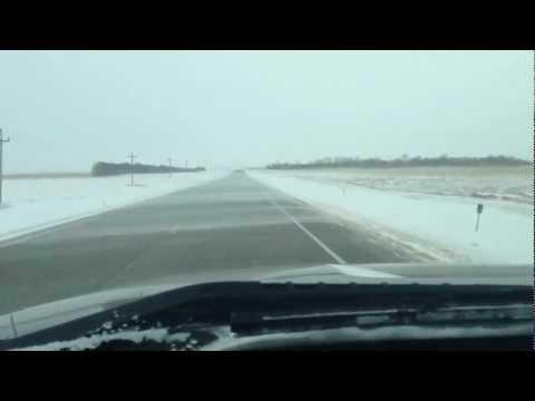 Post Blizzard in North Dakota