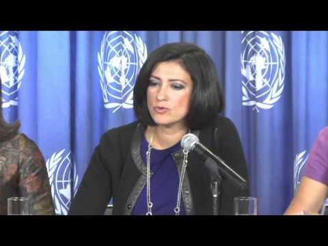 ONU Mujeres. Lanzamiento del Informe Mundial. El Progreso de las Mujeres del Mundo