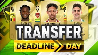 NEW COMPLETED TRANSFER DEADLINE DAY SIGNINGS!!