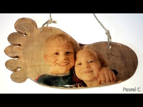 How to Transfer a Photo to Wood. THE PICTURE SHINES.