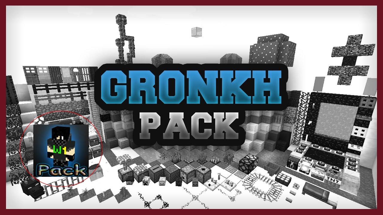 GRONKH Texture Pack DOWNLOAD LINK YouTube - Minecraft hauser gronkh