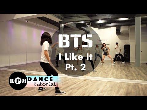 "BTS ""I Like It Pt.2"" Dance Tutorial (Chorus)"