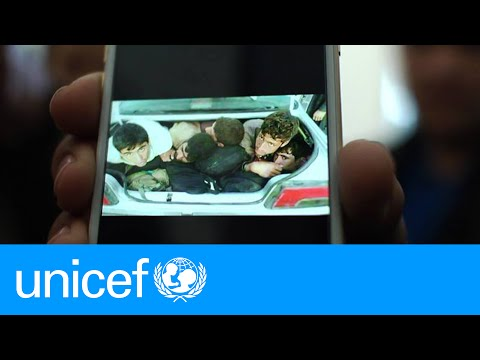 What it's like to be smuggled out of Afghanistan in a car trunk | UNICEF