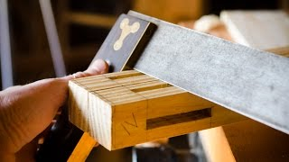 Build A Dovetail Desk With Hand Tools - Part 2: Legs