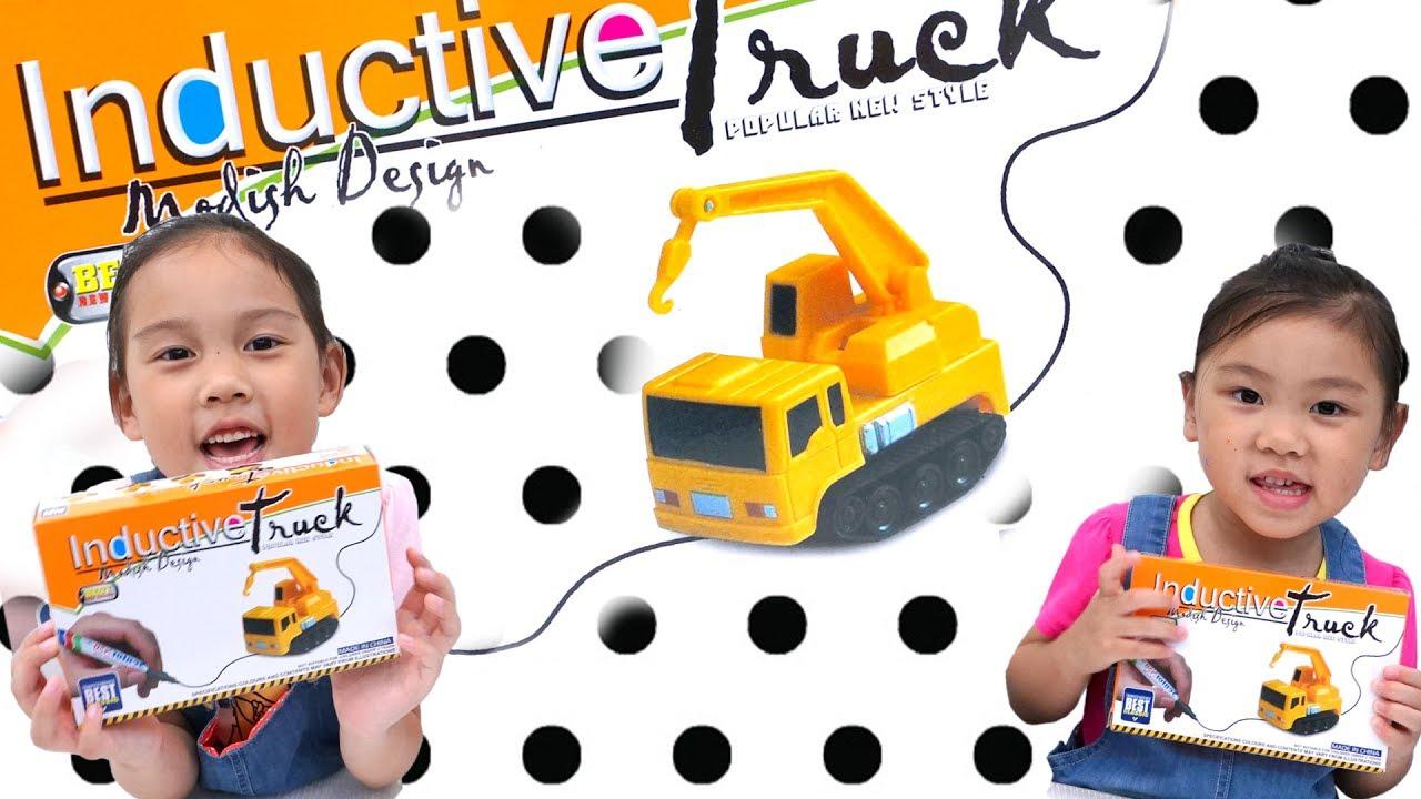 讓你隨處畫隨處跑的神奇玩具車神奇循線自走車 - YouTube