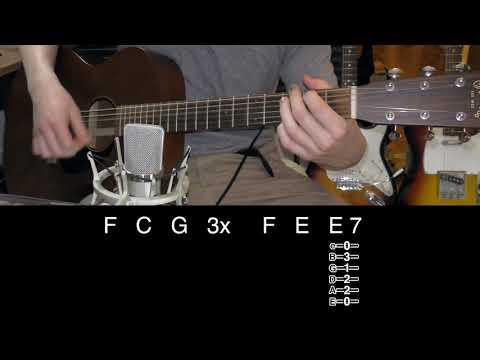 Regret - John Frusciante (Guitar Lesson)