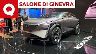 Nissan IMq: ecco come sarà la prossima Qashqai - Salone di Ginevra 2019 | Quattroruote