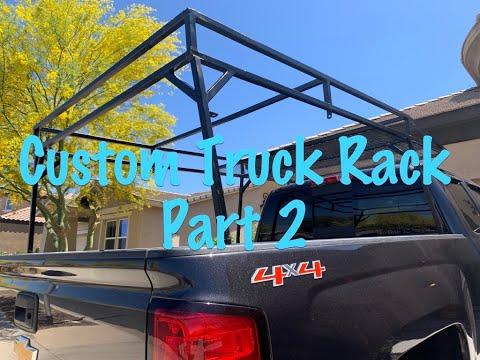 Building a CUSTOM TRUCK BED RACK - Part 2