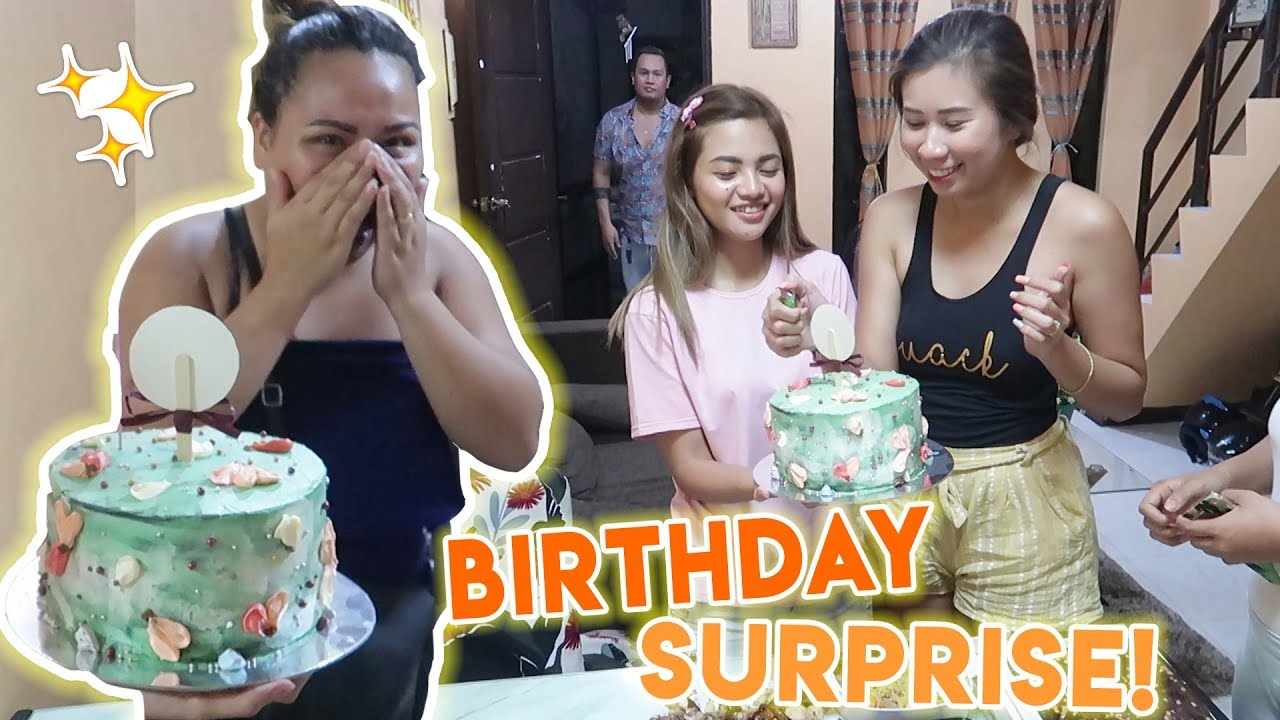 WE THREW A SURPRISE BIRTHDAY PARTY!!