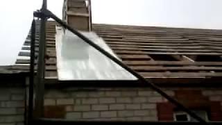 Как перекрыть крышу профнастилом после шифера своими руками: видеоинструкция