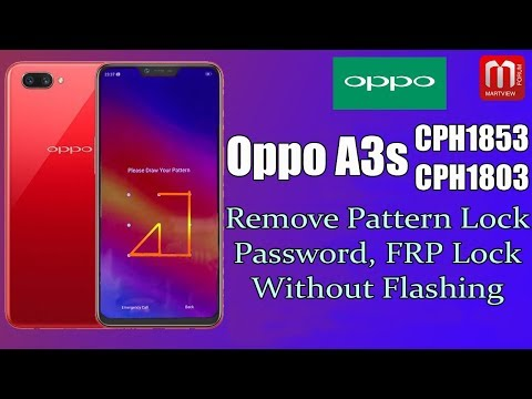 oppo-a3s-cph1853-pattern-lock,-password-remove-without-flash