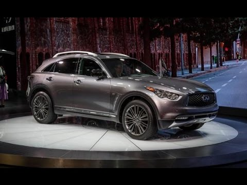 2017 Infiniti QX70 Redesign, Changes and Concept - YouTube