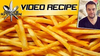 Mcdonalds French Fries (homemade) - Video Recipe