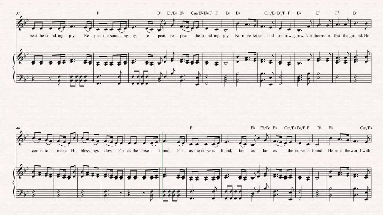 Trumpet - Joy to the World - Christmas Sheet Music, Chords, & Vocals ...