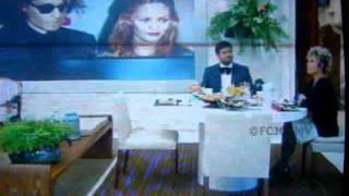 Programa Mais Você (270612) - Johnny Depp e Vanessa Paradis