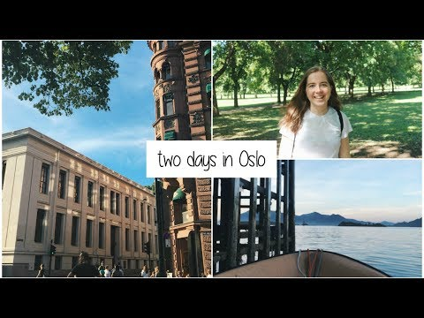 two days in Oslo | Visa, Oslo pride & meeting other exchange students