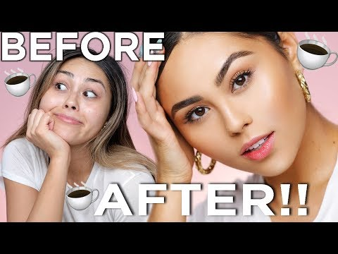 EASY EVERYDAY 5 MINUTE GLOW UP (tinted moisturizer and no falsies!) | Roxette Arisa
