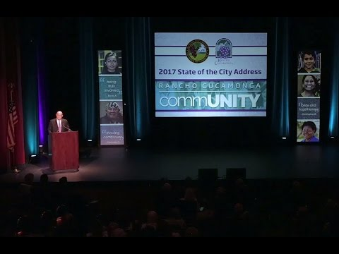 2017 Rancho Cucamonga State of the City