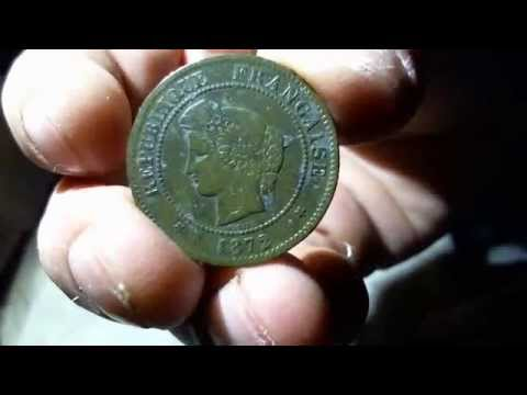 1700 S Big Copper And 1872 5 Cent French Coin With A 1909 Wheat As The Kicker Youtube