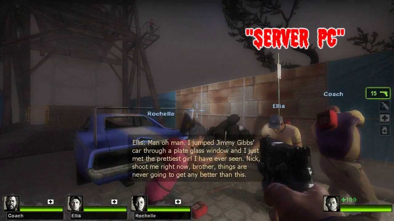 How to play Left 4 Dead multiplayer (LAN)