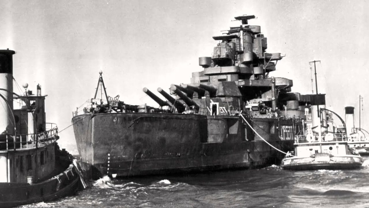 USS New Mexico -BB-40 sold for scrap