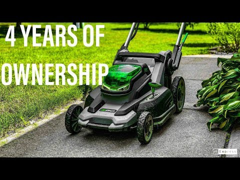 EGO Mower: 4 Year Review