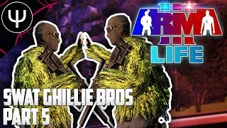 ARMA 3: Life Mod — SWAT Ghillie Bros — Part 5 — Flying to the Moon!
