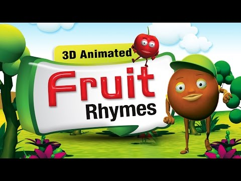 3D Rhymes Collection | Top 30 Nursery Rhymes Collection | Fruit Rhymes Compilation | Rhymes Lyrics