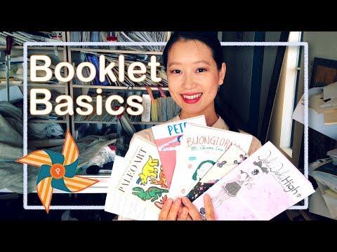 Booklet Basics Zine Tutorial | olivia and pindot | risograph studio