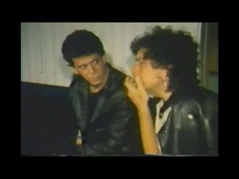 Lou Reed talks about the third side of the street.