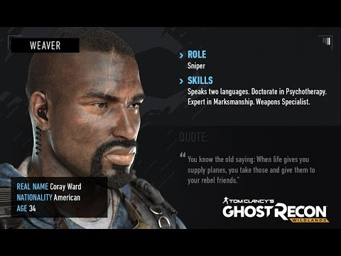 How to make weaver alpha tom clancy 39 s ghost recon wildlands youtube - Weaver ghost recon ...