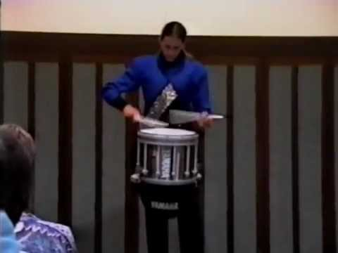 Roger Carter Blue Devils DCI snare solo 6th place 1994