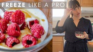 How To Freeze F๐od Like A Pro! | Food Freezing Tips