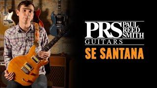 Paul Reed Smith Se Santana  Cme Gear Demo