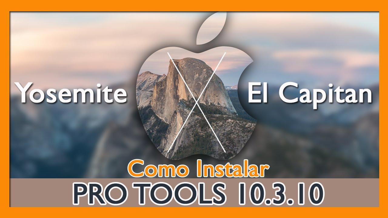 Como Instalar o Pro Tools 10 3 10 no Mac OS X Yosemite e El Capitan