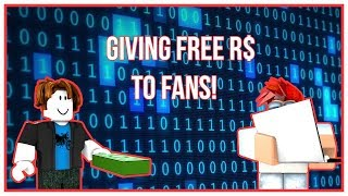444 Robux Giveaway LIVE!