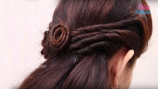 Easy Hair Style for Long Hair || Ladies Hair Style Videos 2017