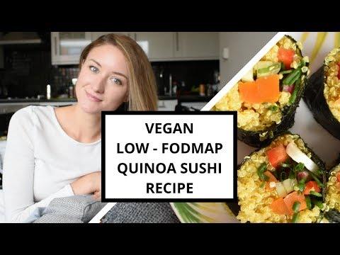 Low-FODMAP Vegan Quinoa Sushi Recipe!